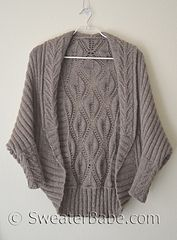 Tabitha Cocoon Cardigan by SweaterBabe, pattern available on Ravelry.  KAL in progress now.