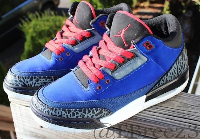 "4ea39eb5e4a Air Jordan 3 Custom ""Eminem Encore"" by EBreez3 