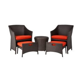 399 Chairs For Patio With Pull Out Ottoman And Storage