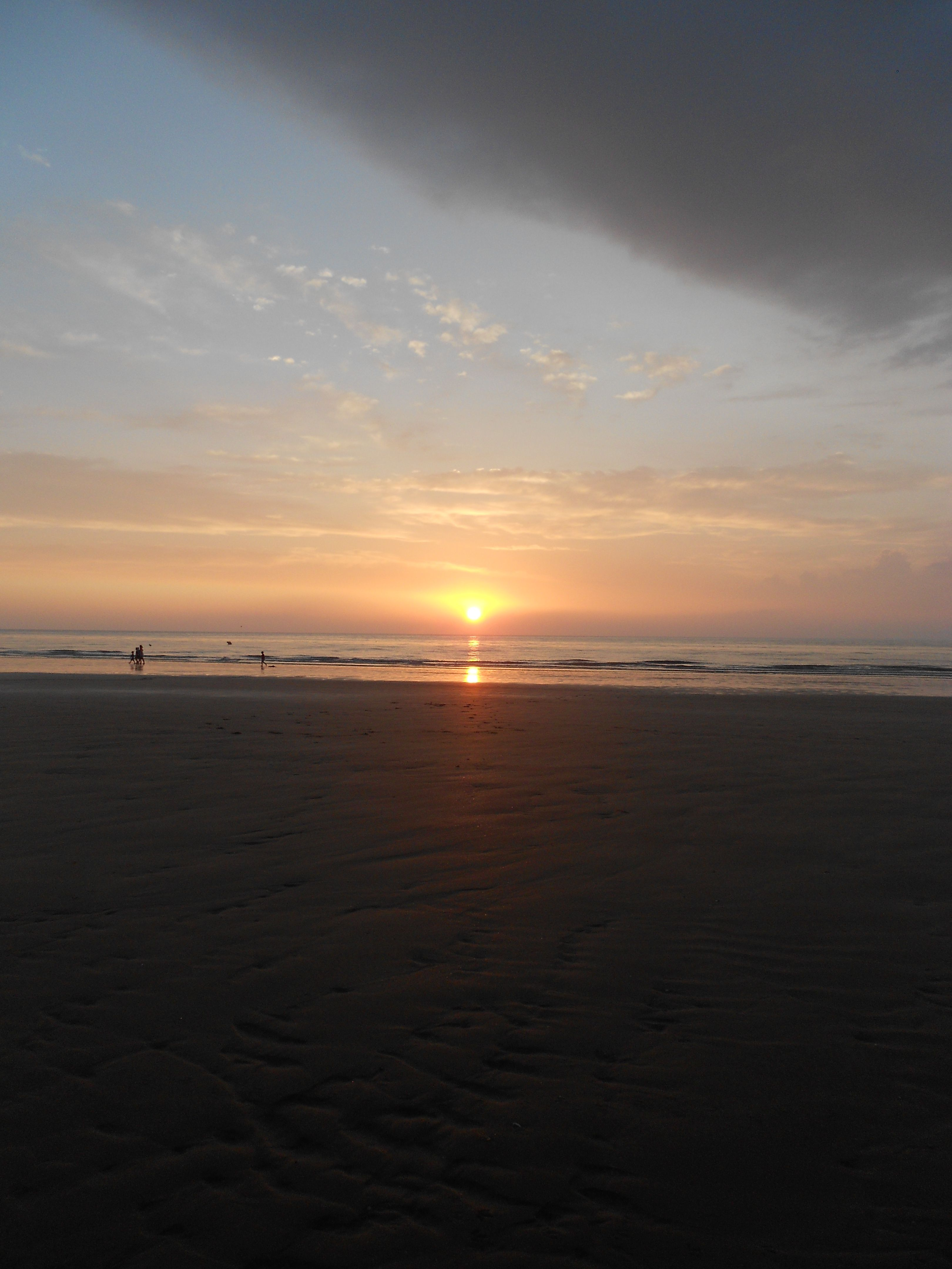 my last sunset at Normandie.