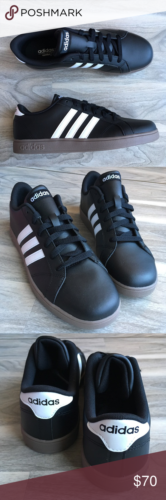 Adidas neo brown bottom 8.5 NEW! | Adidas neo, Shoes sneakers ...