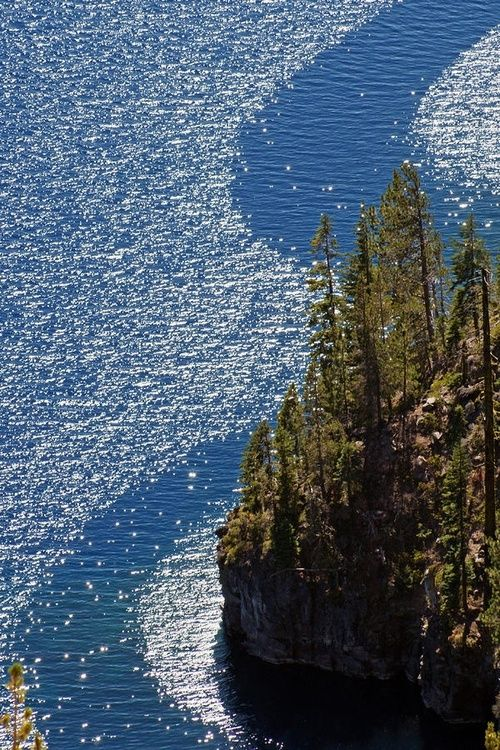 Wind Streams by Jake Johnson #craterlakeoregon