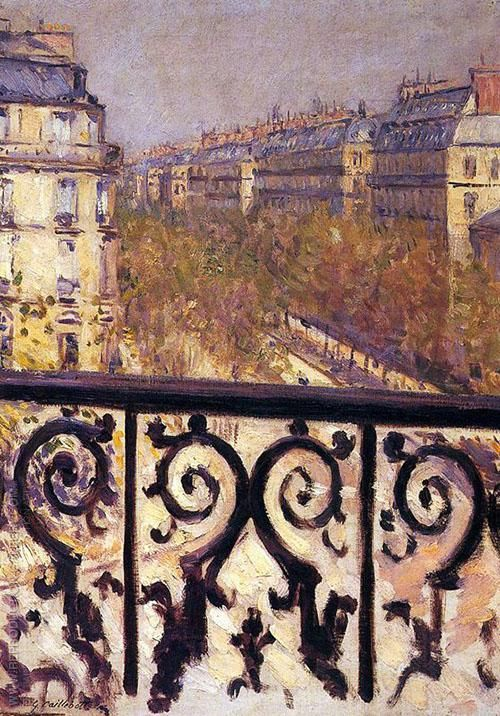 A Balcony in Paris c1880 By Gustave Caillebotte Replica Paintings on Canvas - Reproduction Gallery  #GustaveCaillebotte #GustaveCaillebottePaintings #FrenchPainter #FrenchArtist #impressionistArt #impressionism #wallart   #canvaspainting  #homedecorideas  #roomdecorideas  #housedecoration  #wallartdécor  #largewallart  #livingroomwalldécor  #paintingsforsale  #officedecorideas  #livingroomdecorideas  #bedroomdecorideas  #walldécor #ArtLovers #FamousArtist #ReplicaPaintings #ReproductionGallery