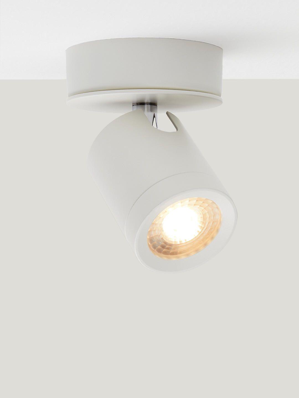 John Lewis Partners Otis Led Single Ceiling Spotlight White Ceiling Spotlights Ceiling Shades Incandescent Bulbs