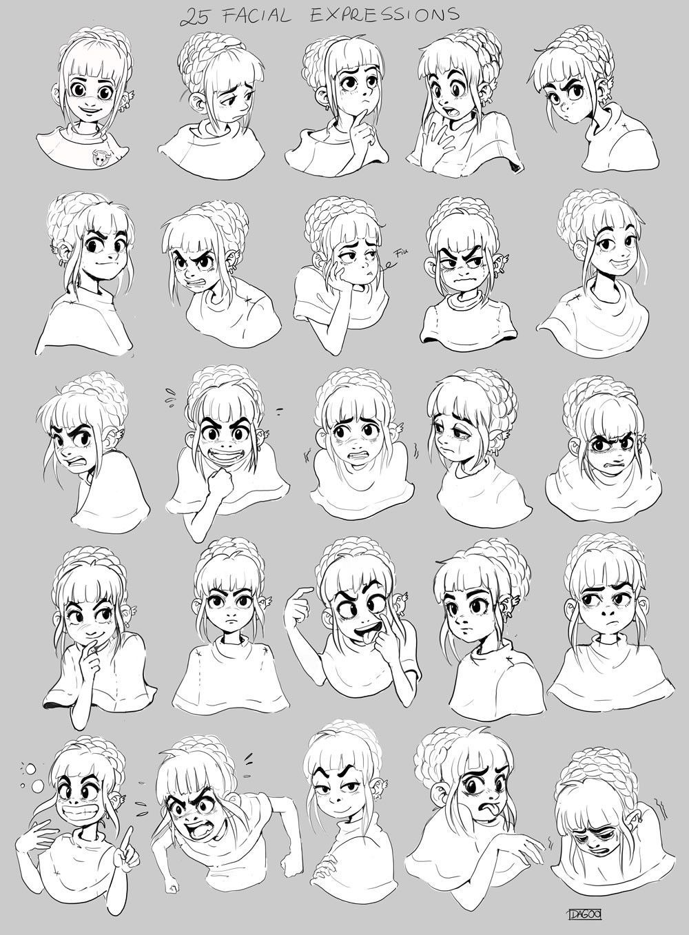 Emotion Drawing References Google Search Drawing Expressions