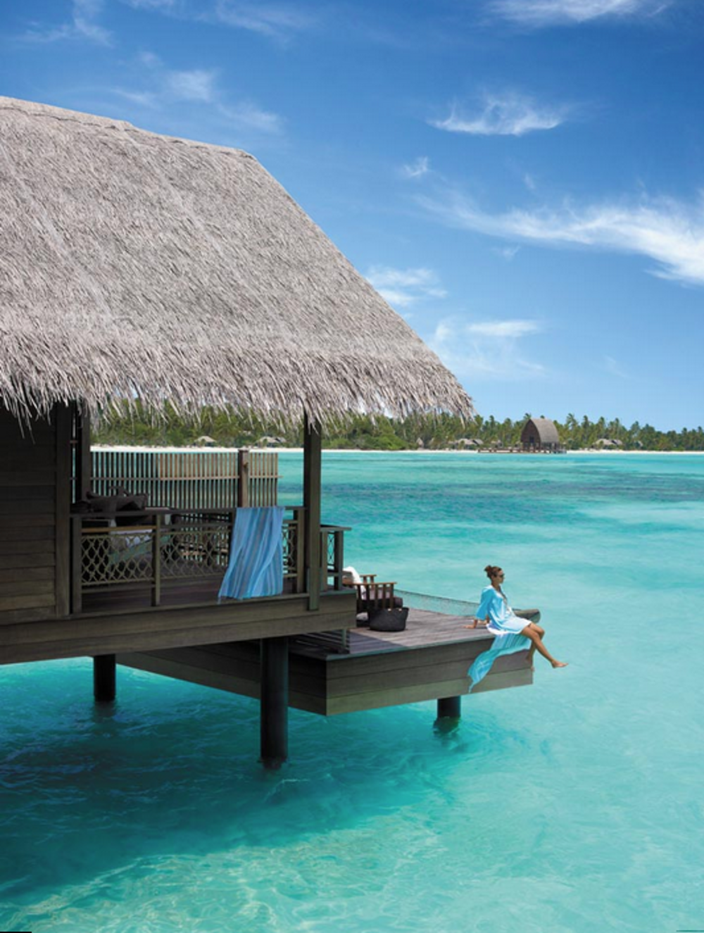 Charming Best Overwater Bungalows Maldives Part - 3: Best Overwater Bungalow Resorts Maldives Villingili Deck