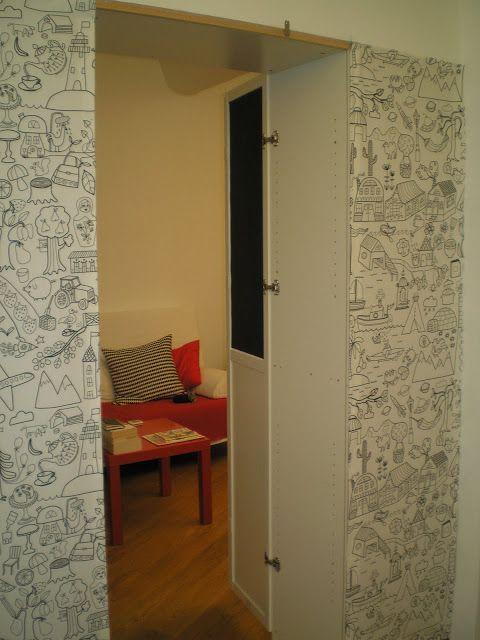 Billy Walk In Room Divider Psst It S A Secret Room Deco