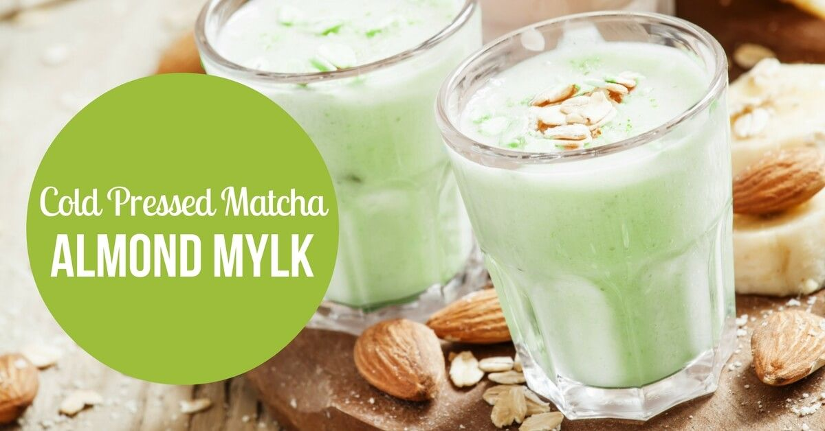 Check out this fresh and flavorful matcha twist on almond milk! So healthy and delicious, you will never go back to regular store-bought milk.