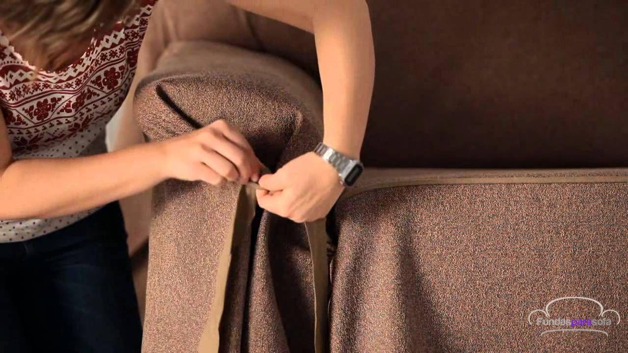 Funda para sofá con lazos | Fundasparasofa.com