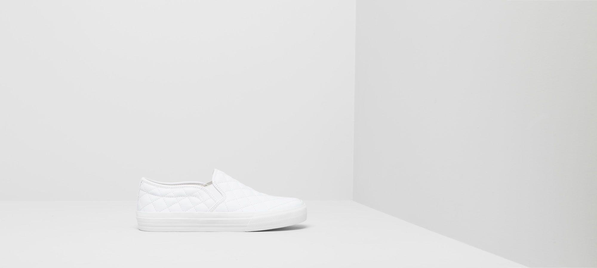 Quilted Block Plimsolls Sports Shoes Footwear Pull Bear Turkey Turkiye