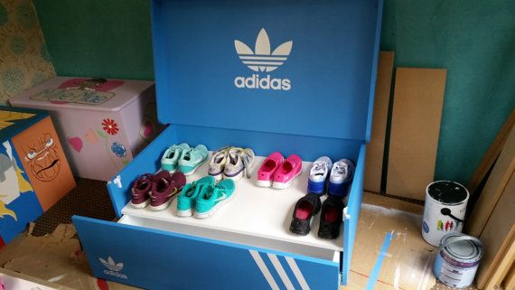 e7c6040bcab0f XL Giant Trainer / Sneaker Storage Box Adidas by UniqueWallsuk ...