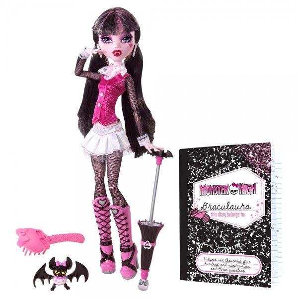 Papusi Originale Monster High Draculaura