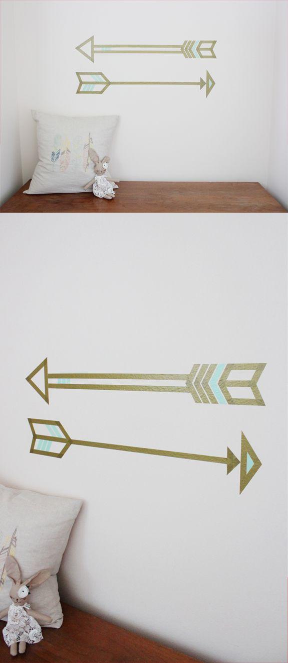 washi tape wall decals college pinterest w nde deko und ideen. Black Bedroom Furniture Sets. Home Design Ideas