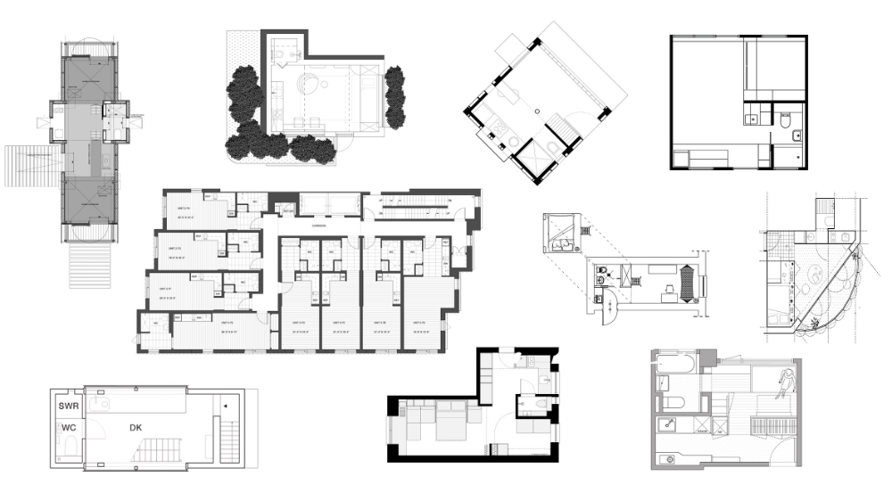10 micro homes with space saving floor plans