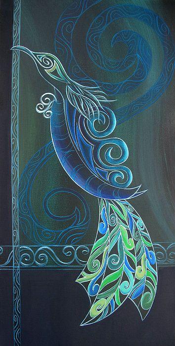 tui bird 2 art print by reina cottier bird maori and printing. Black Bedroom Furniture Sets. Home Design Ideas
