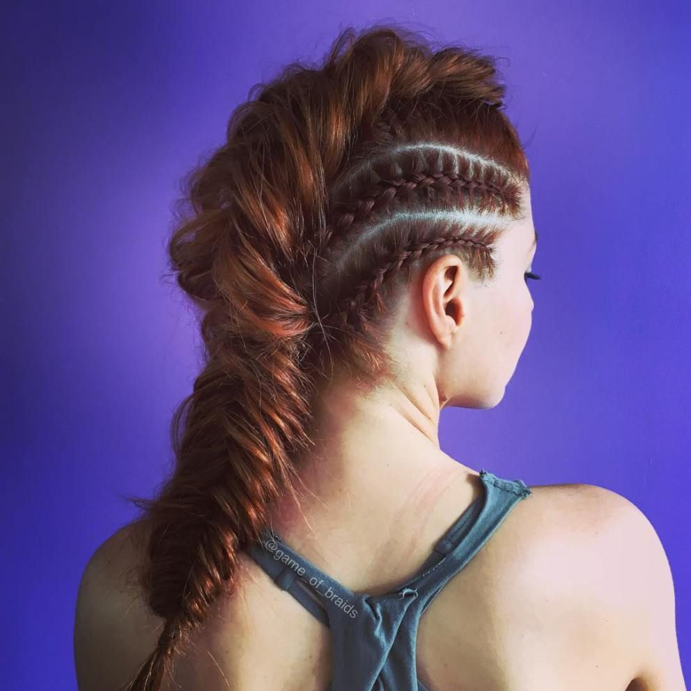 Get busy sporty hairstyles for workout dyed hair pinterest