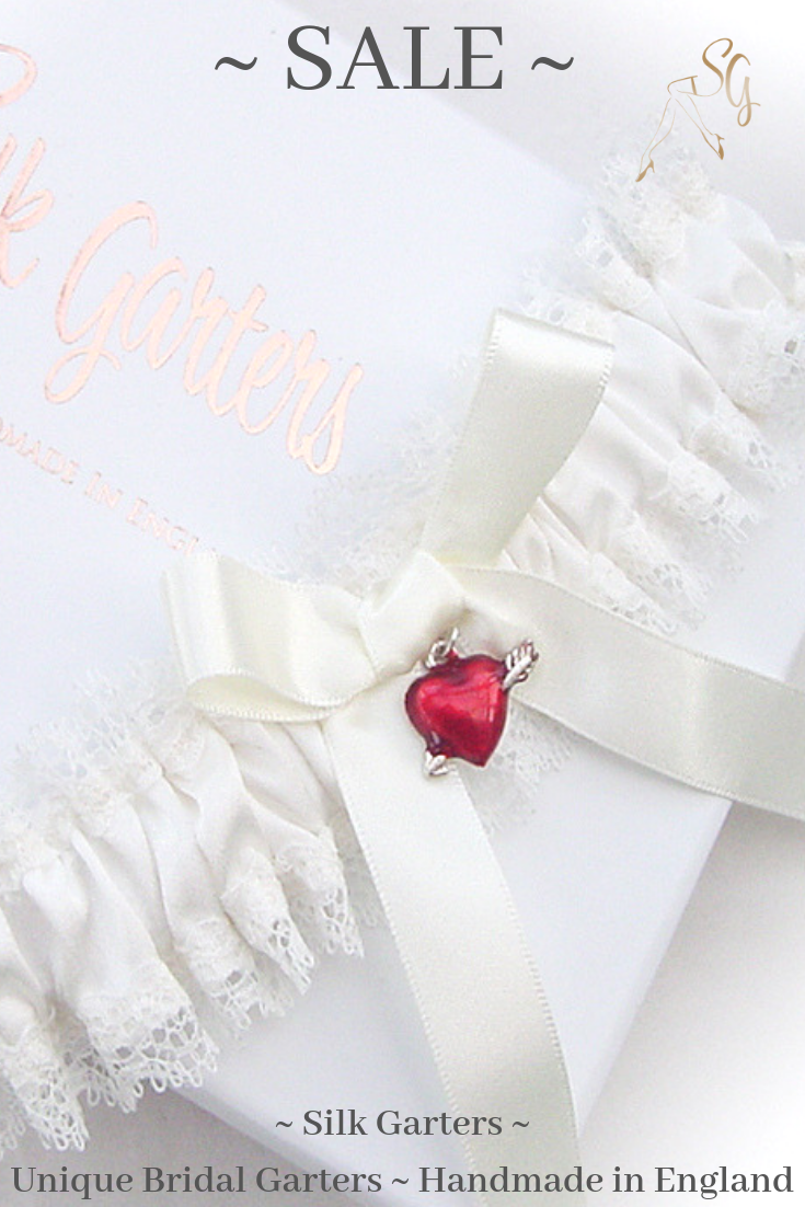 42728deb19a Pop over to Silk Garters and see more gorgeous garters in the sale💕   weddinggarter  ivoryweddinggarter  sale  vintageweddinggarter ...