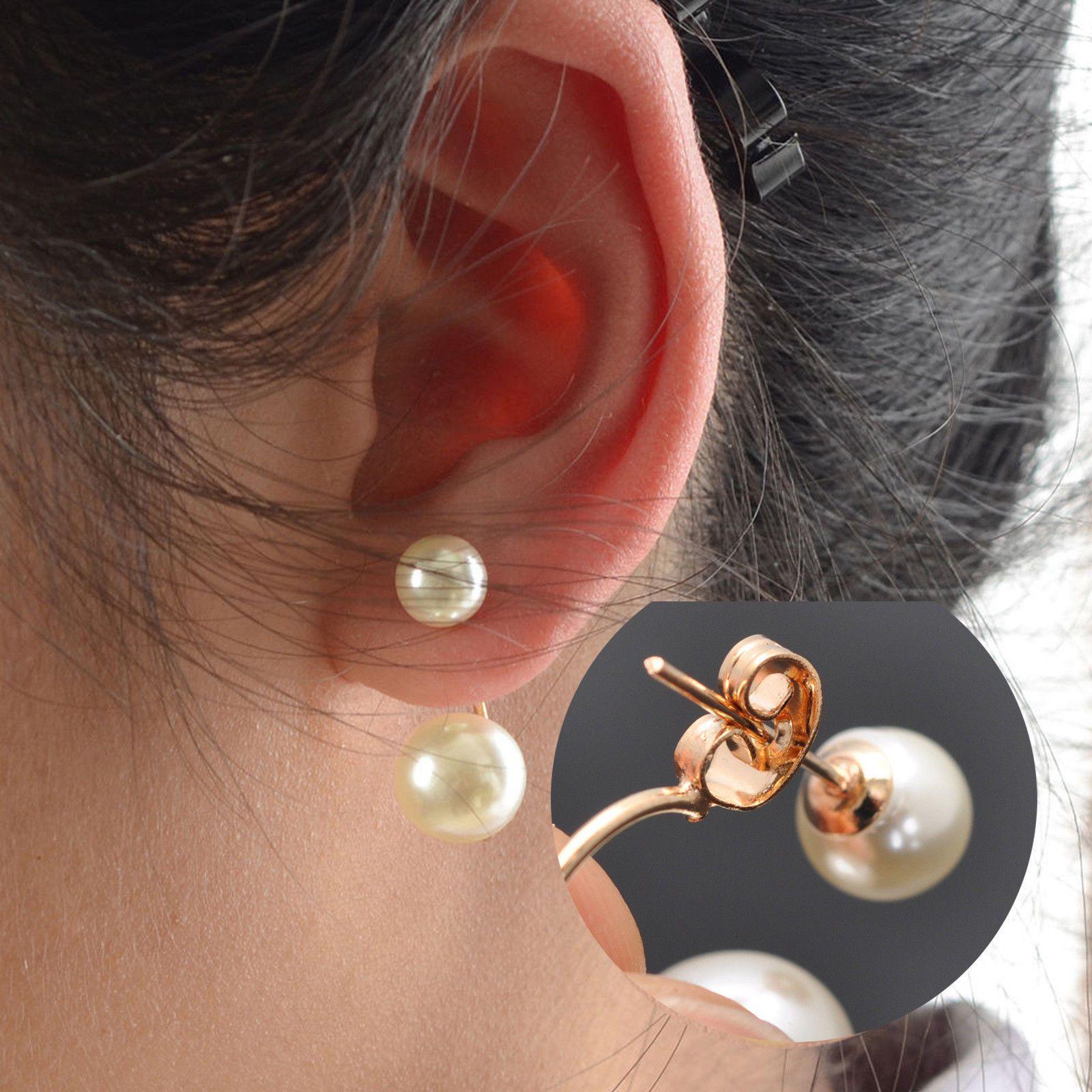 Modeschmuck ohrstecker perlen