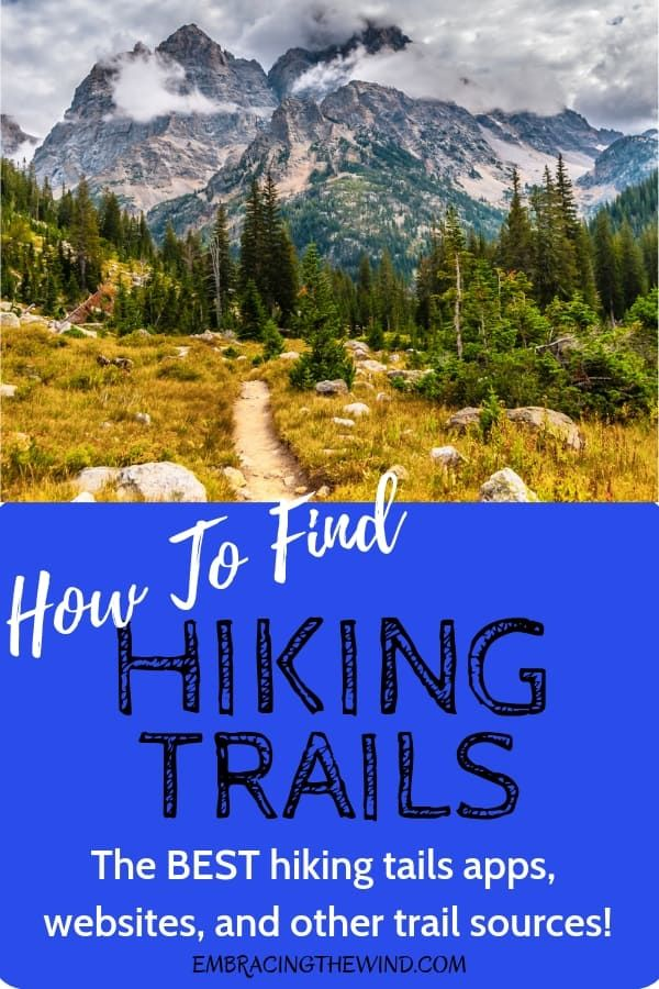 How to Find Hiking Trails #hikingtrails