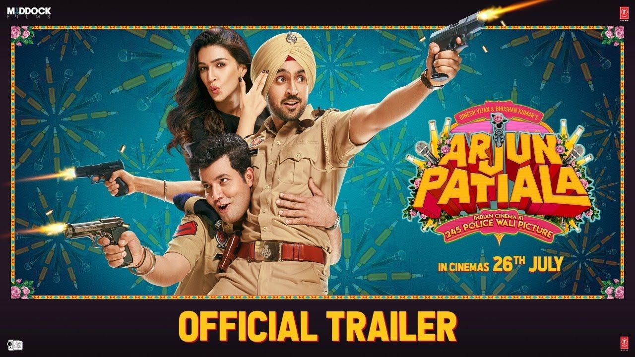 Official Trailer Arjun Patiala Diljit Kriti Varun Dinesh V Rohi In 2020 New Upcoming Movies Movie Trailers Official Trailer