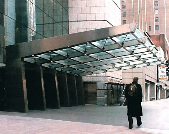 Post Road Iron Works Commercial Canopies Four Times Square New