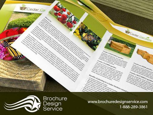 Our brochure designers\u0027 work for Cedar Gardens This is a small bi