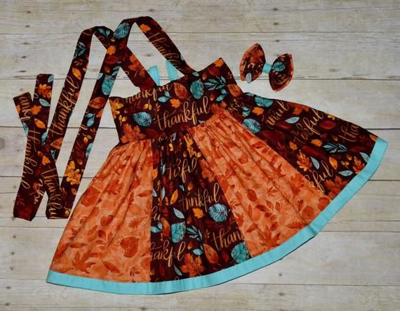 Thanksgiving Suspender Skirt, High Waisted Suspender Skirt, Fall Skirt, Twirl Skirt, Autumn, Thanksg #twirlskirt