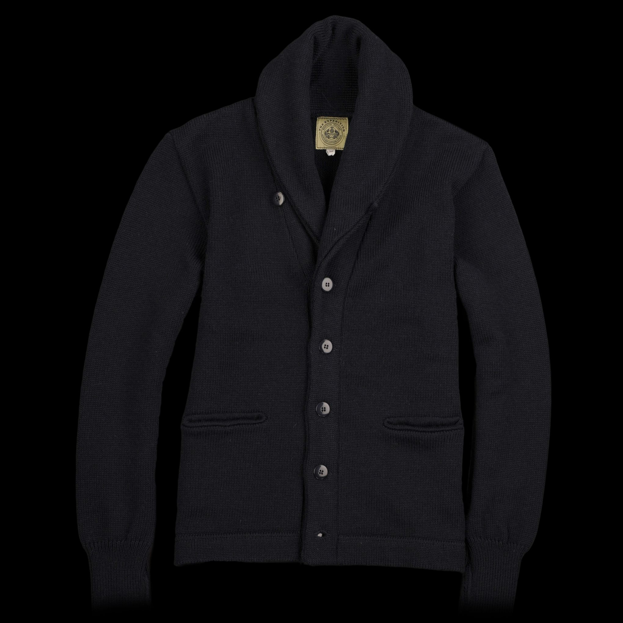 f8269be758aa North Sea Clothing - Expedition Cardigan in Navy ...