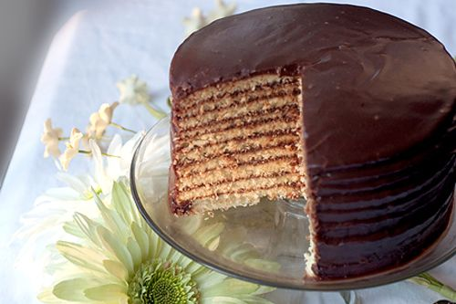 Chocolate Little Layer Cake Cakes Pinterest Layering