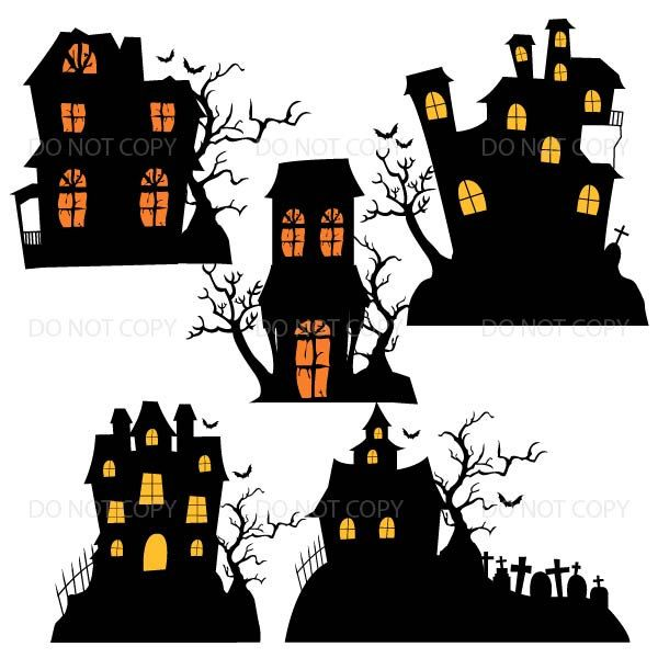 halloween houses halloween clipart haunted house clipart. Black Bedroom Furniture Sets. Home Design Ideas