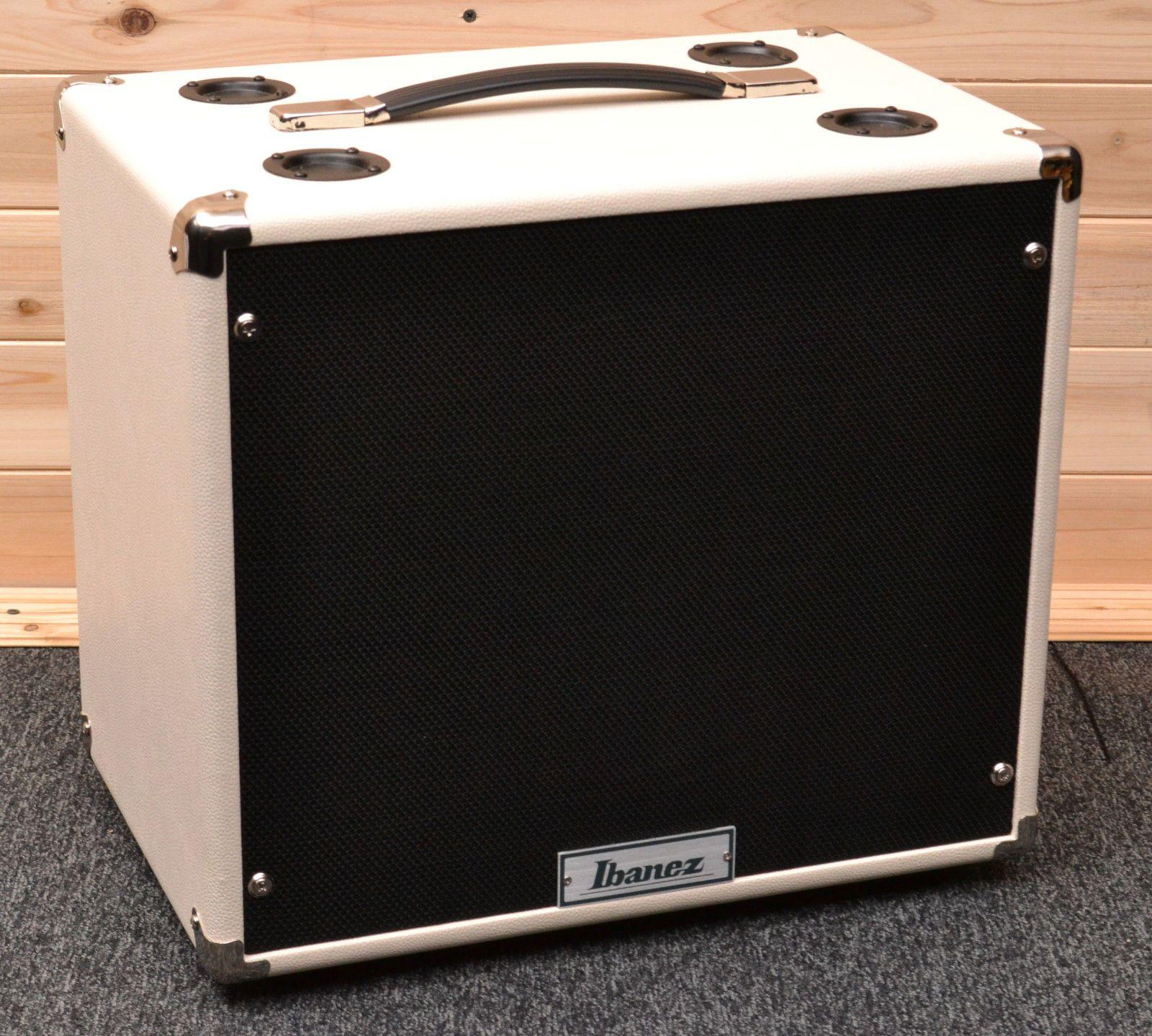 Ibanez Tsa112c Tube Screamer 80w 1x12 Guitar Amp Cabinet White Guitar Amp Diy Cabinets Guitar