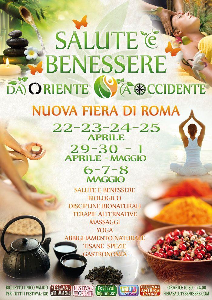 Festival della -Salute-e-benessere- Roma dal 22 Aprile alla #fieradiroma