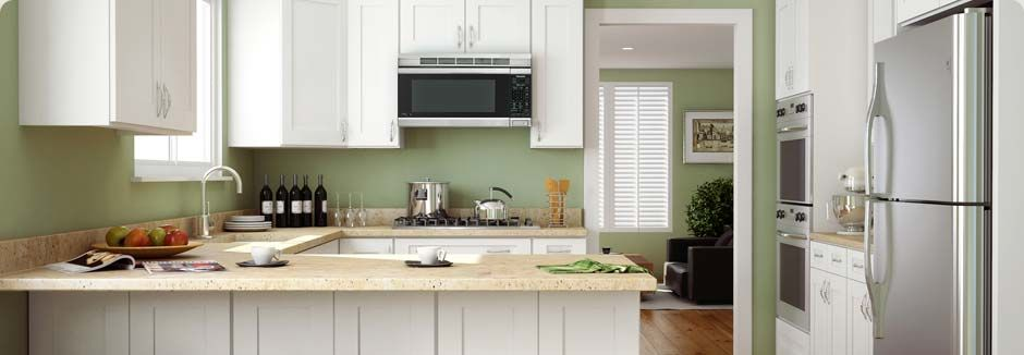 Best Ice White Shaker Forevermark Cabinetry Llc Kitchen 400 x 300