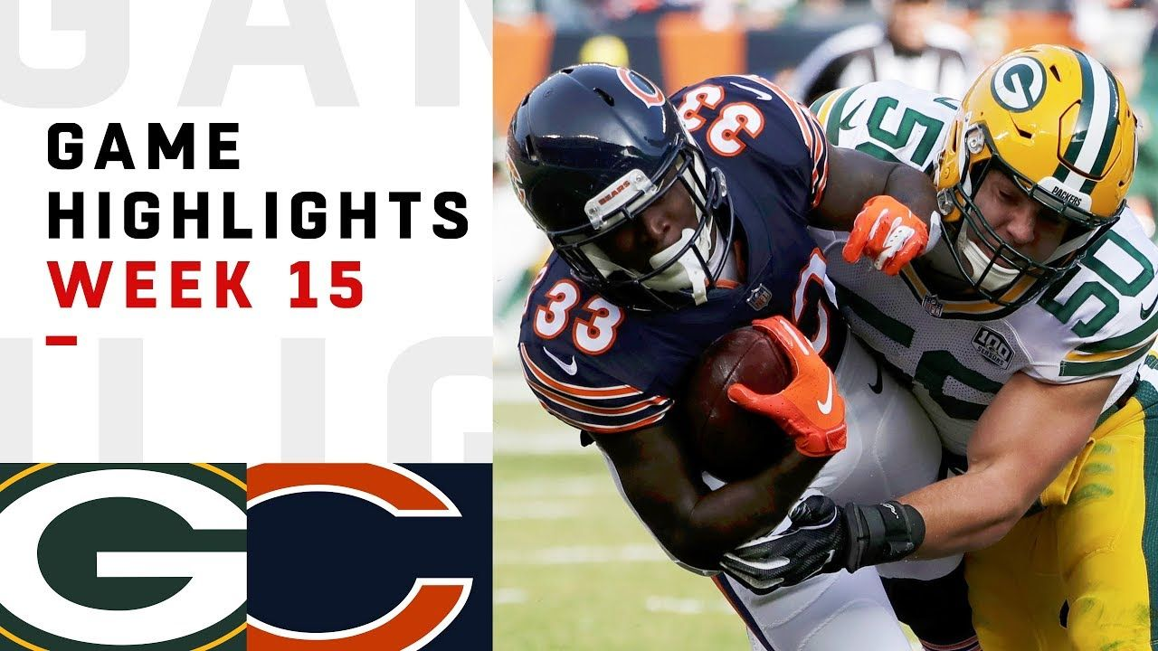 Packers Vs Bears Week 15 Highlights Nfl 2018 Brought To You By Smart E Packers Vs Bears Nfl Green Bay