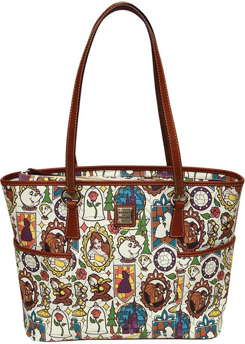 Disney Beauty And The Beast Dooney Bourke Shopper Tote New Belle Pre Sale Disney Dooney Dooney Bourke Bag Dooney