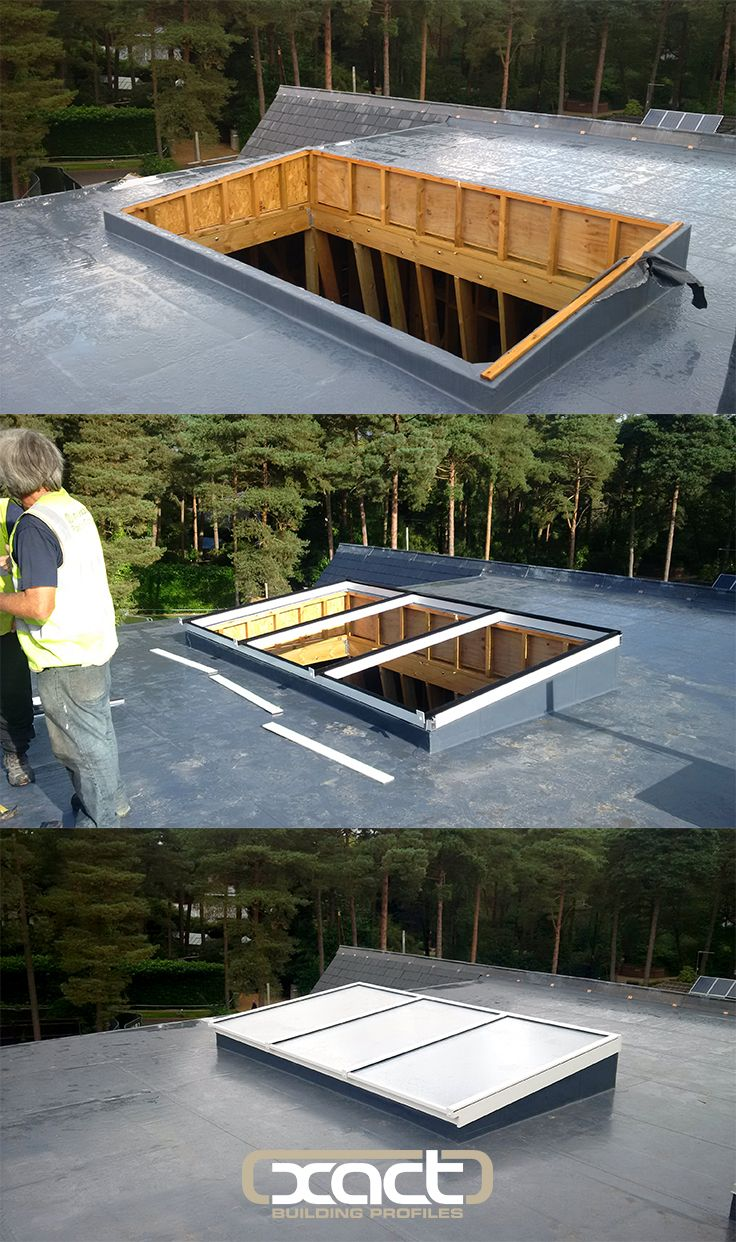 Roof Lantern And Flat Glass Roof Light Transform Hampshire Property Exact Architectural Glazing Roof Lantern Flat Roof Skylights Glass Roof