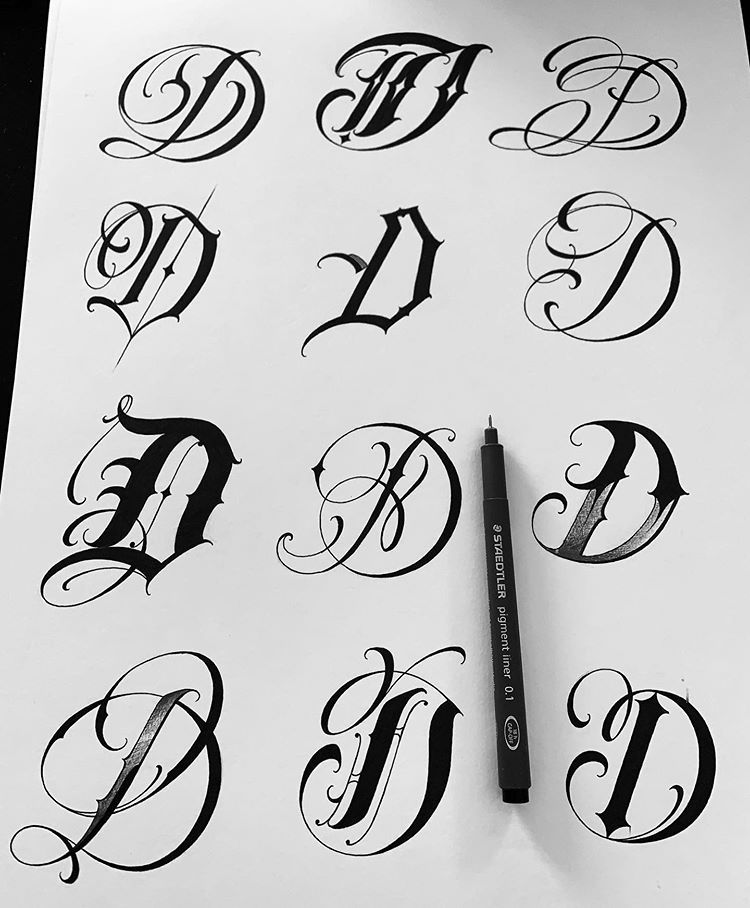 Brigantetattoo En Instagram D Tattoo Tattoos Letteringtattoo Art Lettering L In 2020 Tattoo Lettering Fonts Tattoo Lettering Design Tattoo Lettering Styles
