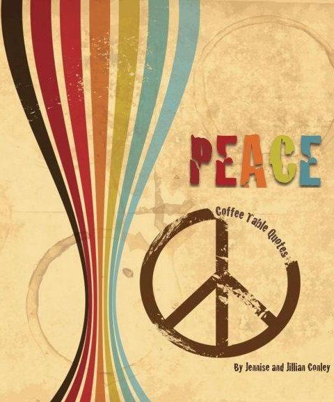 Peace image via Namaste Cafe at www Facebook com