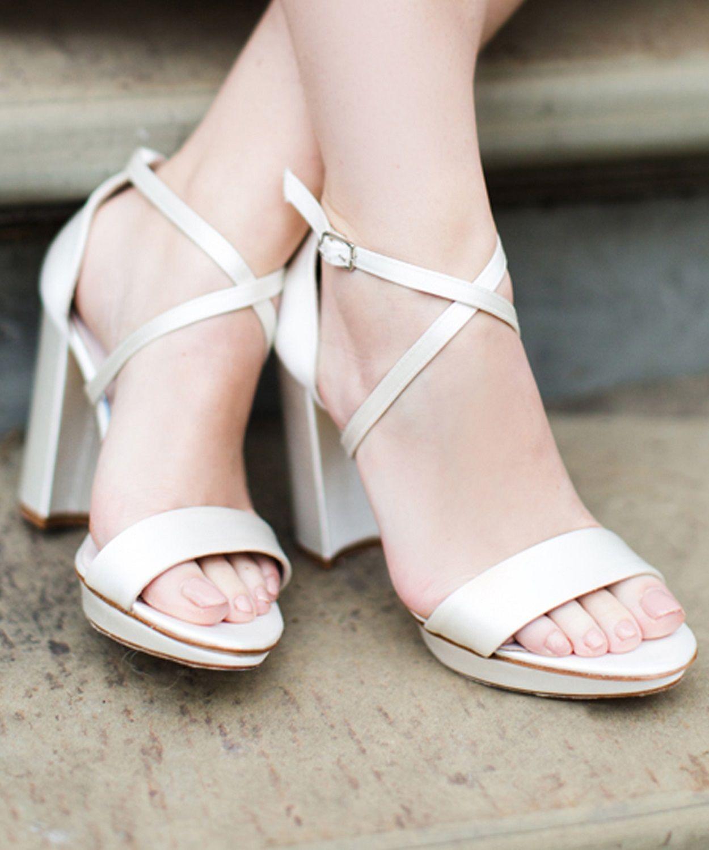 Platform sandals heels, Wedding shoes