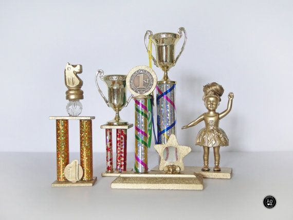 Silver Trophy Fits 18 inch American Girl Dolls