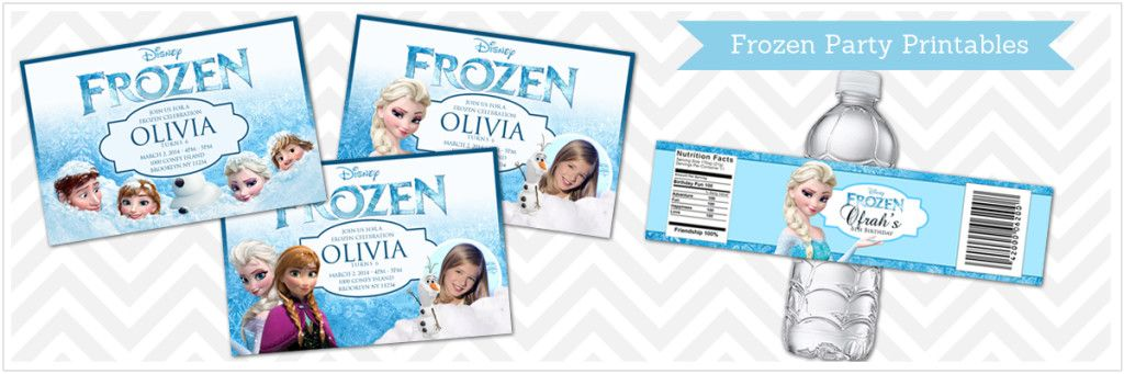 Free Frozen Printable Invitation Download Frozen printable Frozen