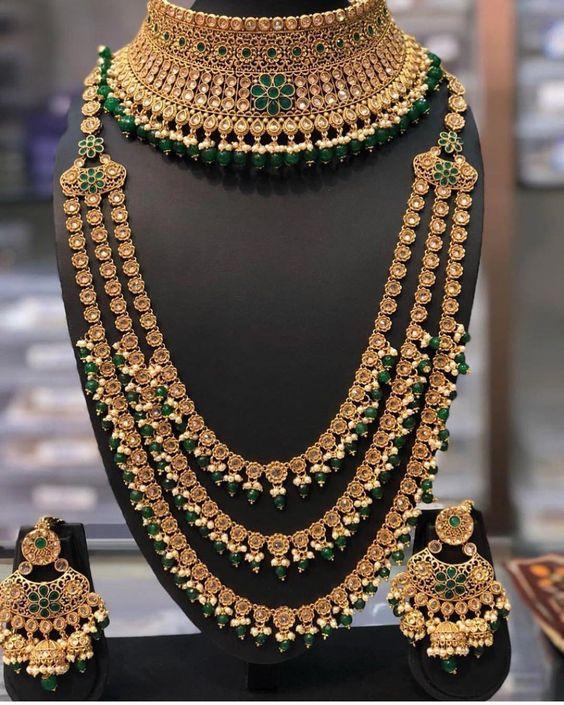 Best Bridal Jewelry Set Ideas 2020 Pakistani Pret Wear In 2020 Bridal Fashion Jewelry Indian Bridal Jewelry Sets Indian Wedding Jewelry Sets
