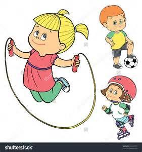 Outside Sports Kids Cartoon Kids Sports Outdoor Games For Kids Kids