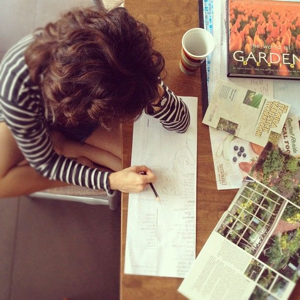 by ryan marshall. garden planning.