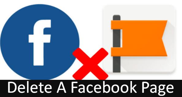 Delete Page Facebook Facebook Page Facebook Facebook Updates