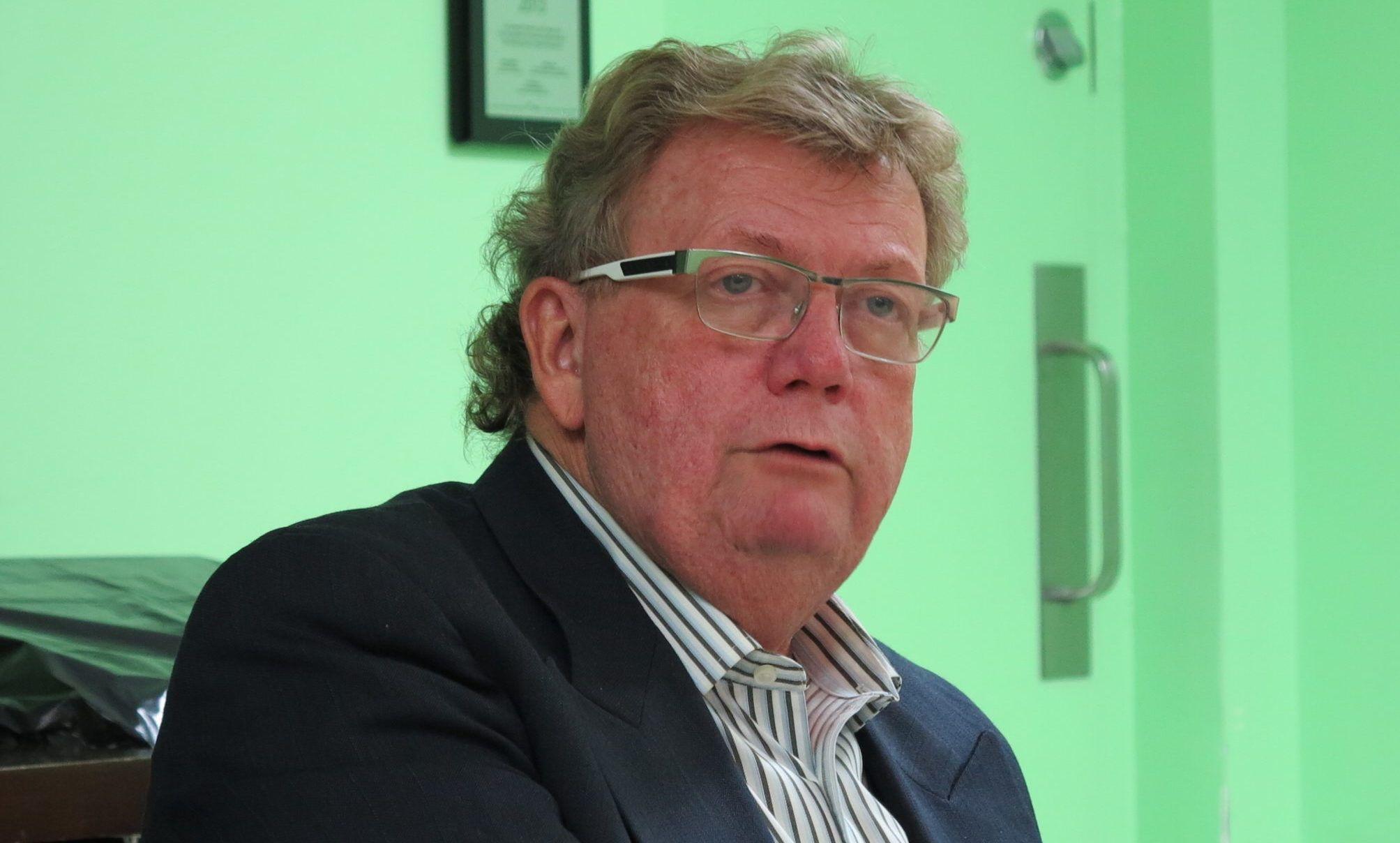 Edwin Anthony Holder, the mayor of London, Ontario, Canada