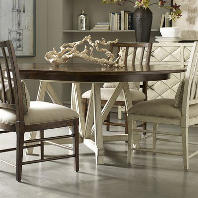 a r t furniture echo park round dining set with buffet dining rh pinterest com