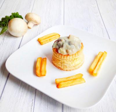 Photo of Lauencuisine vegetarian vol au vent