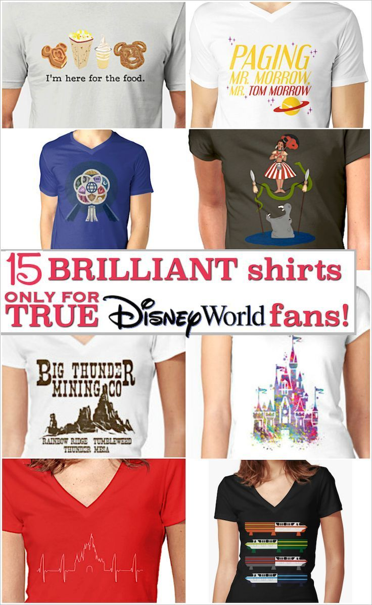 0997d3914 Unique Disney shirts only die-hard Disney World fans will understand