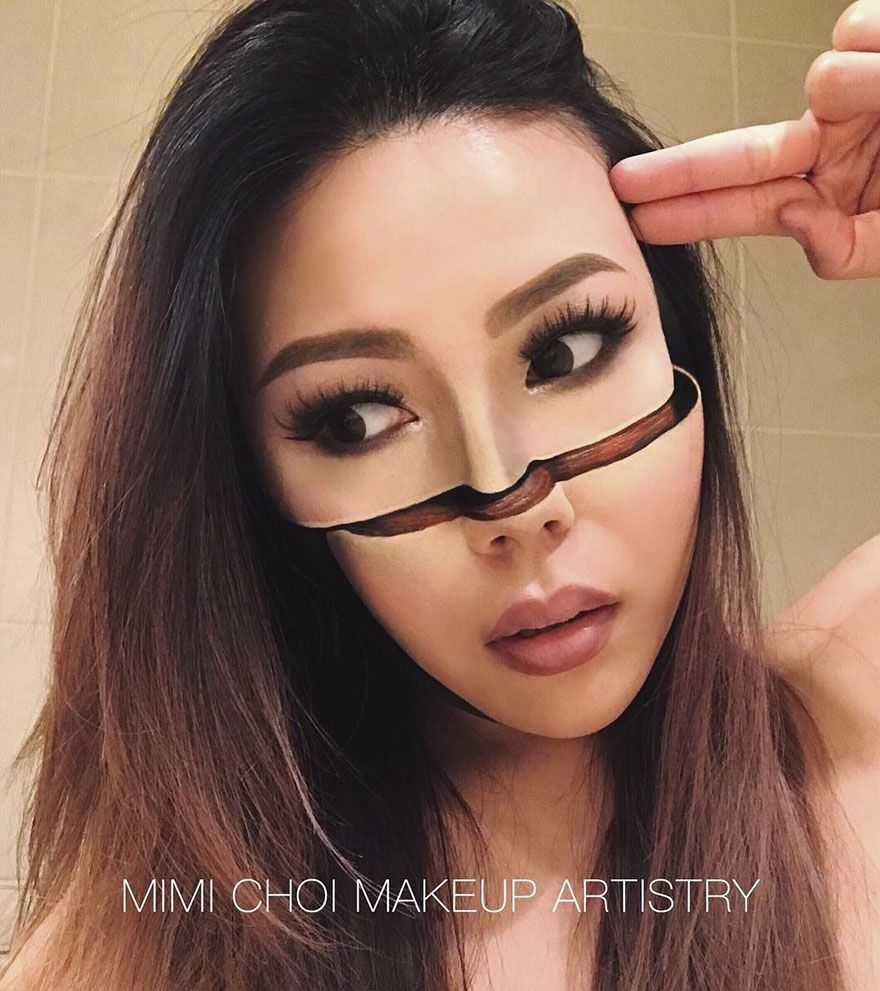 Woman Gives Up Teaching To Create Optical Illusions With Makeup And It S Messing With Our Minds Maquillage Maquillage Fantastique Maquillage Halloween